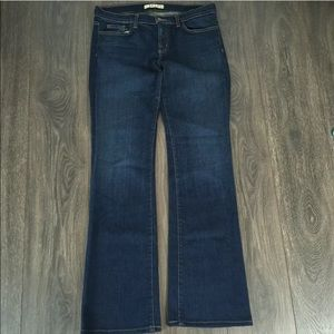 J Brand darkvint Jeans Made In USA Size 31